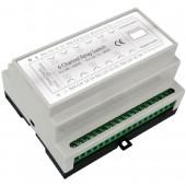 Haseman DRS6-AI - Z-Wave DIN Rail 6x2kW Universal Switch module, 4 Inputs