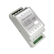 Haseman Z-Wave DIN Rail Switch module, v2 (Insert Fibaro FGS-213)